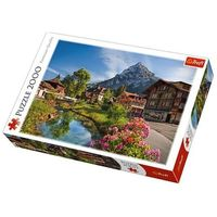 Puzzle, Puzzle 2000 Alpy latem TREFL