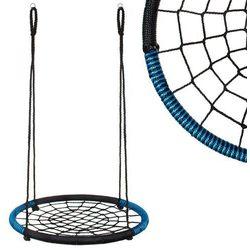 Bocianie gniazdo czarno niebieskie 100cm - CZARNO-NIEBIESKI