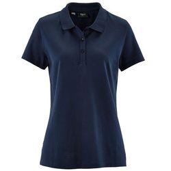 Shirt polo z rękawami 1/2 bonprix ciemnoniebieski