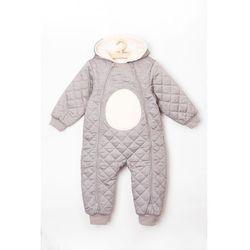 Kombinezon niemowlęcy szary miś 5A3807 Oferta ważna tylko do 2023-05-25