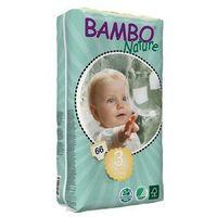 Pieluchy jednorazowe, BAMBO Nature Midi 3 (5-9kg) 66 szt. - pieluszki jednorazowe