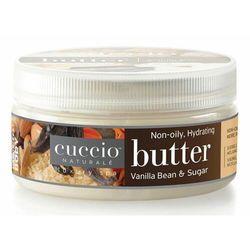 Cuccio VANILLA BEAN & SUGAR BUTTER Nawilżające masło do dłoni, stóp i ciała (wanilia i cukier)