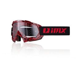 GOGLE IMX MUD (SZYBA CLEAR) Graphic Red/Black