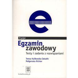 FRYZJER - EGZAMIN ZAWODOWY. TESTY I ZADANIA Z ROZWIĄZANIAMI (opr. miękka)