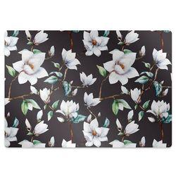 Podkładka pod krzesło obrotowe Podkładka pod krzesło obrotowe Malowane kwiaty