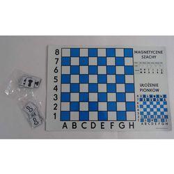 Magnetyczne szachy tablica A3 - Szachy demonstracyjne