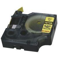 Papiery fotograficzne, DYMO rhino flexible nylon 12mm black/yellow