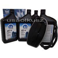 Filtry oleju do skrzyni biegów, Olej MOPAR ATF+4 oraz filtr automatycznej skrzyni biegów NAG1 Jeep Grand Cherokee 2005-