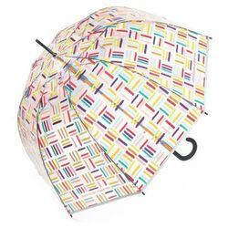 United Colors of Benetton Long AC Transparent 56813 parasol długi / Square Lines