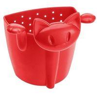 Zaparzacze i kawiarki, Zaparzaczka do herbaty kotek czerwona Mimmi