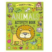 Książki do nauki języka, Search and Find Animals ćwiczenia dla dzieci