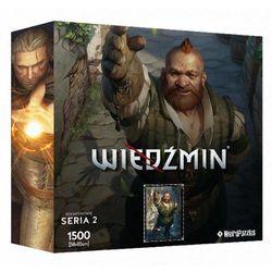 Puzzle CDP.PL Bohaterowie Wiedźmina - Zoltan (seria 2)