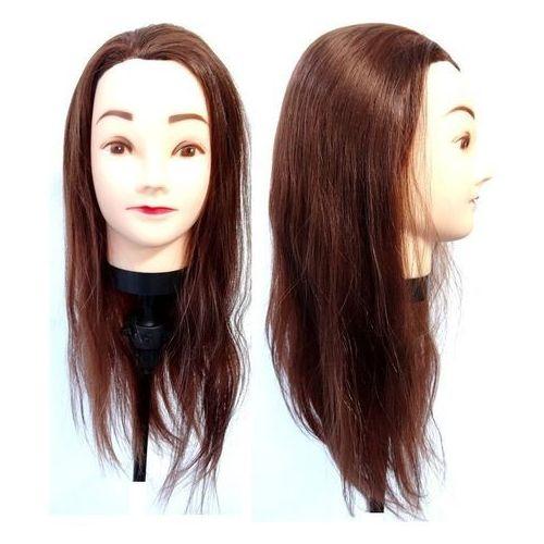Akcesoria fryzjerskie, Główka Fryzjerska Treningowa Włos 55 cm + Uchwyt