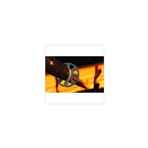 Broń treningowa, MIECZ JAPOŃSKI SAMURAJSKI NINJA HONSANMAI DO TRENINGU, STAL WYSOKOWĘGLOWA 1095 ORAZ WARSTWOWANA, R356
