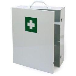 Solidna metalowa szafka apteczka zamykana na klamry - Super Cena - Autoryzowana dystrybucja - Szybka dostawa - Porady - Wyceny - Hurt