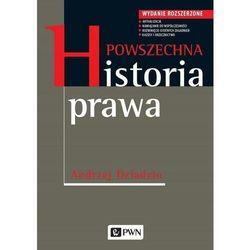 Powszechna historia prawa. wydanie rozszerzone - andrzej dziadzio (opr. miękka)