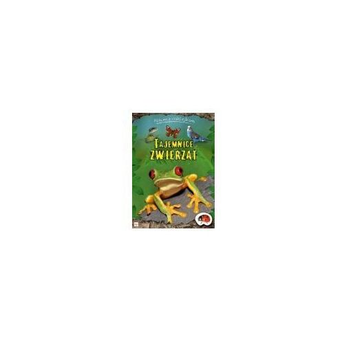 Książki dla dzieci, Album z naklejkami - Tajemnice zwierząt (opr. miękka)