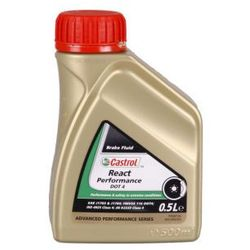 Castrol REACT Performance DOT 4 500 Mililitr Puszka