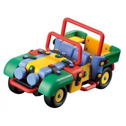 Zestaw do składania MIC-O-MIC Wesoły Konstruktor Samochód terenowy