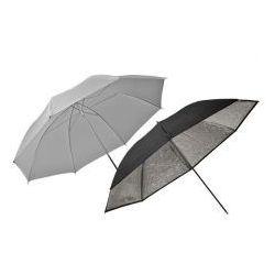 Elinchrom zestaw parasoli Eco transparentny i srebrny 85cm