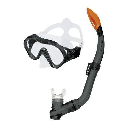 Maski, płetwy i fajki, Zestaw do nurkowania SPOKEY Cayman Junior 81269 Czarny
