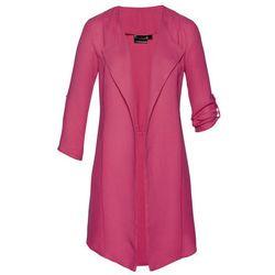 Lekkie wdzianko koszulowe bonprix różowy