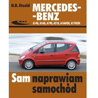 Biblioteka motoryzacji, MERCEDES-BENZ A140,A190,A210,A160CDI,A170CDI (opr. broszurowa)