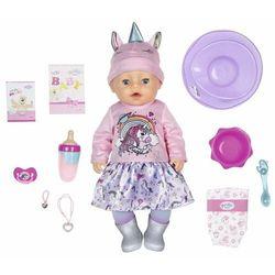 BABY born Soft Touch, dziewczynka w ubraniu z jednorożcem, 43 cm