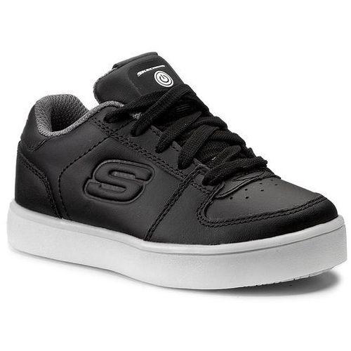 Trzewiki i półbuty dla dzieci, Sneakersy SKECHERS - Elate 90601L/BLK Black