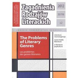 Zagadnienia Rodzajów Literackich t. 55 (110) z. 2/2012 - praca zbiorowa - ebook