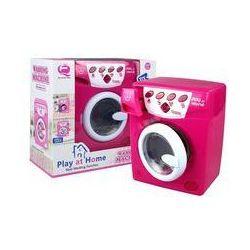 Pralka na baterie różowa - Lean Toys