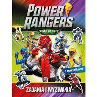 Literatura młodzieżowa, Power rangers. zadania i wyzwania - praca zbiorowa (opr. broszurowa)