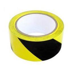 Taśma odgrodzeniowa żółto czarna
