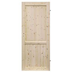 Drzwi pełne Radex Lugano 60 prawe sosna surowa