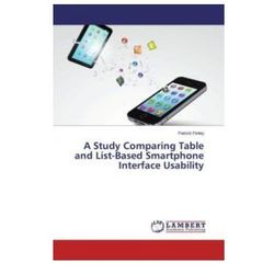 A Study Comparing Table And List - Based Smartphone Interface Usability