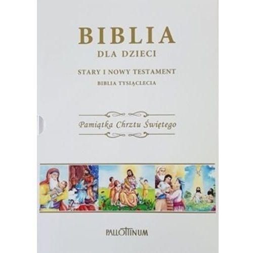 Książki dla dzieci, Biblia dla dzieci. Pamiątka Chrztu Świętego (opr. twarda)