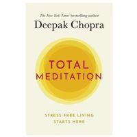 Książki do nauki języka, Total Meditation - Chopra Deepak - książka