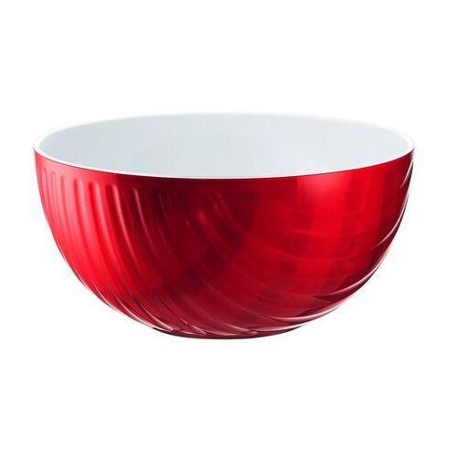 Misy i miski, Miska Mirage, średnica 21.00 cm, czerwona - Ø 21,00 cm