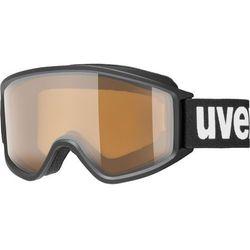 UVEX g.gl 3000 P Gogle, black mat/polavision 2019 Gogle narciarskie