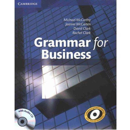 Książki do nauki języka, Grammar for Business with Audio CD (opr. miękka)