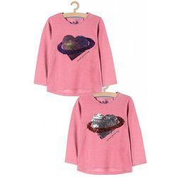 Bluzka dziewczęca z cekinami 3H3739 Oferta ważna tylko do 2023-08-09