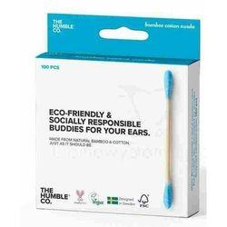 Patyczki Higieniczne Bambusowe NIEBIESKIE 100szt. - Humble Brush