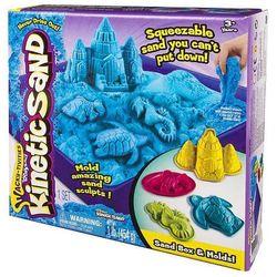 Kinetic Sand - podwodny świat + foremki 454g nieb.