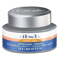 ibd LED/UV BUILDER GEL NATURAL II Budujący żel LED/UV do paznokci (naturalny) - 14 G.
