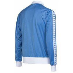 bluza rozpinana man relax iv team jacket icons roy-white-roy, kolor: blue, rozmiar: l marki Arena