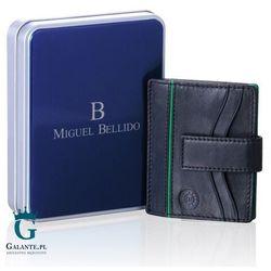 Etui na karty Miguel Bellido MB-2434 Black&Green, MB-2434