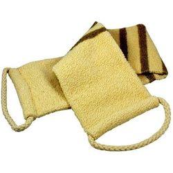 Ekologiczny pas len+bawełna organiczna - do mycia i masażu - marki Riffi