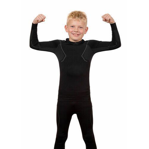 Komplet Bielizny termoaktywnej Alpinus Active Set Junior (Koszulka + Spodnie) Czarny (5908258432060)