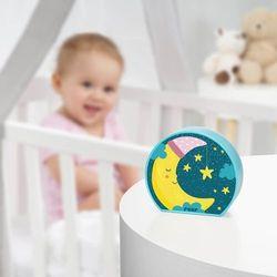 Lampka nocna led na baterie dla dzieci księżyc marki Reer