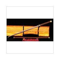 Kuźnia mieczy samurajskich Miecz japoński samurajski ninja do treningu, stal wysokowęglowa 1095 warstwowana damasceńska czerwona, r355